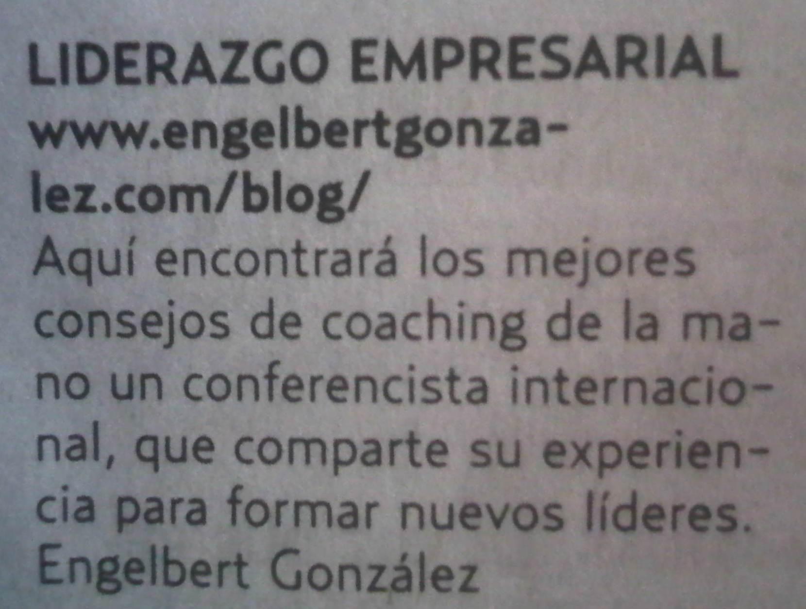 Reseña del periódico «EL UNIVERSAL» domingo 24.07.2011