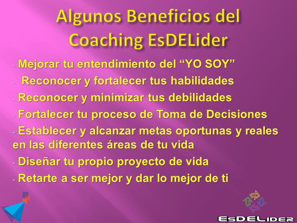 Beneficios del Coaching Internacional EsDELider – Desarrollo Personal