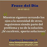 Frase del Día 06-07-2015