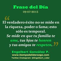 Frase del Día 09-07-2014