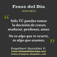 Frase del Día 10-07-2015