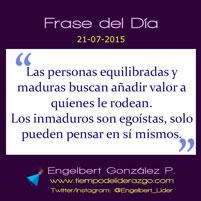 Frase del Día 21-07-2015