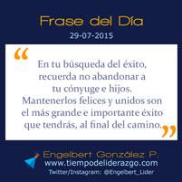 Frase del Día 29-07-2015