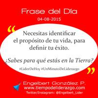 Frase del Día 04-08-2015