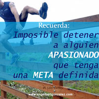Frase del Dia – Imposible Detenerte