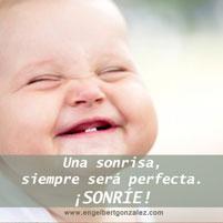 Frase del Día Sonrisa Perfecta