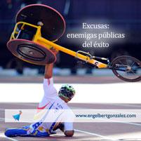 Excusas: Enemigas Públicas del Éxito